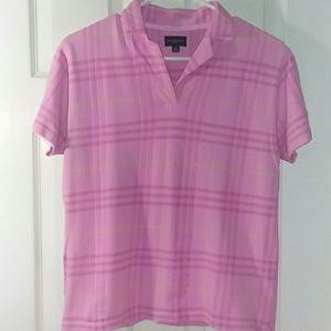 Burberry Golf Womens Polo Size Medium